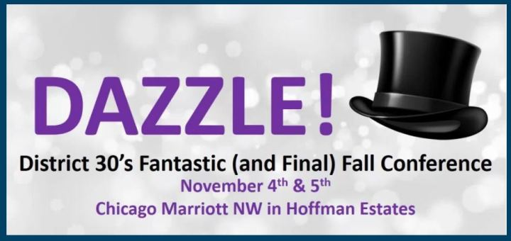 Dazzle Logo for D30 Fall Conference