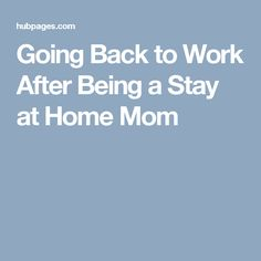 Mothers Returning To Work | Career Counseling Connecticut