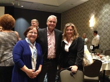 Jane Noble, Mike Duke, and Whitney Emerick