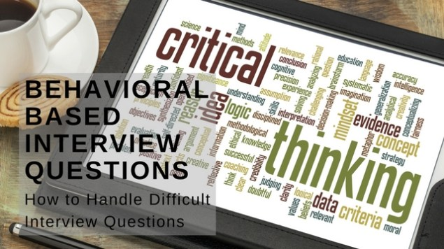 Behavioral Based Interview Questions Career Development Partners