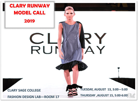 Clary Runway 2019 Model Call