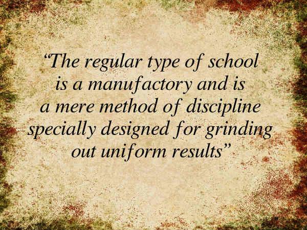 On Schooling