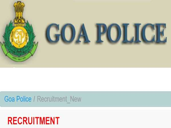Goa Police Recruitment 2021 For 773 Constable, Steno, LDC And Other Posts, Apply Before November 8