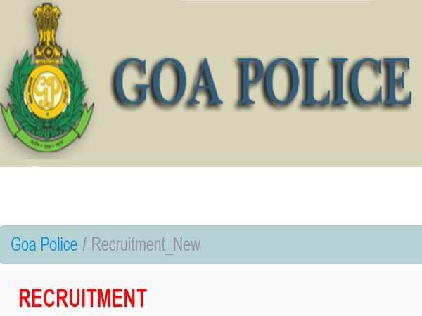 773 कांस्टेबल, स्टेनो, एलडीसी और अन्य पदों के लिए गोवा पुलिस भर्ती 2021, 8 नवंबर से पहले आवेदन करें