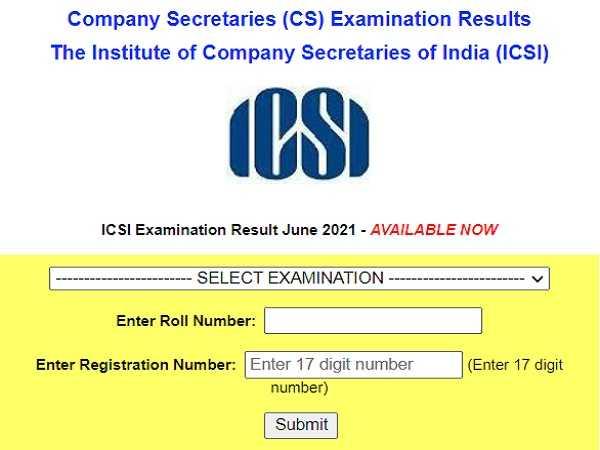 ICSI CS Result 2021 Declared For Executive Courses