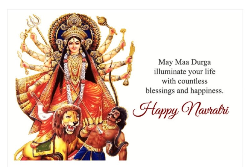 best navratri wishes sms message in hindi