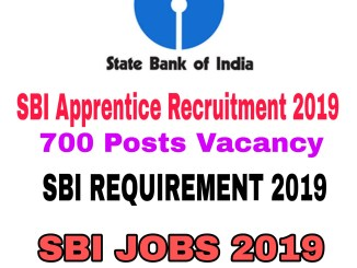 SBI Apprentice Recruitment 2019