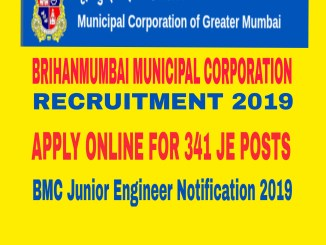 BMC Junior Engineer Recruitment 2019