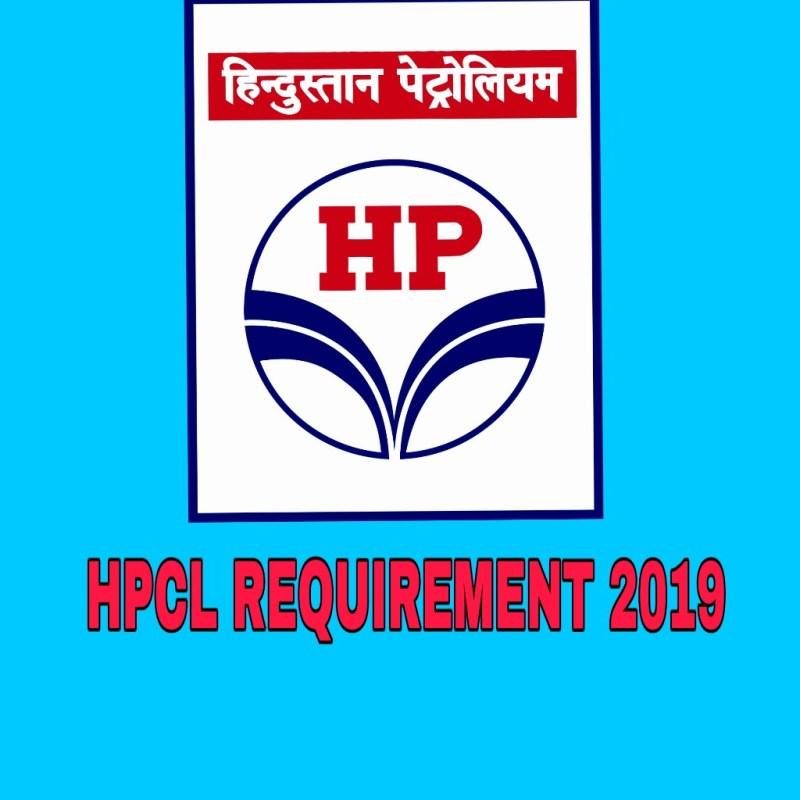 HPCL Recruitment 2019