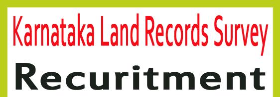 SSLR Karnataka Recruitment 2020
