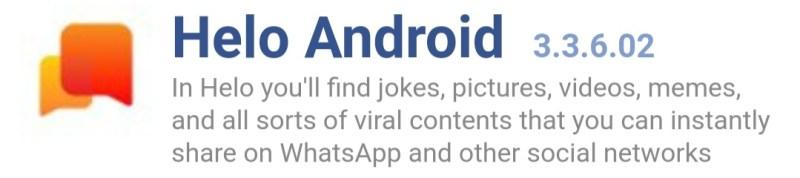 Helo app latest version