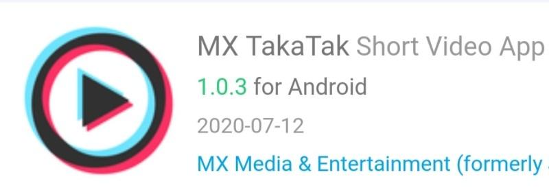 MX TakaTak app