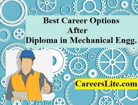 Best career options after graduation in mechanical engineering