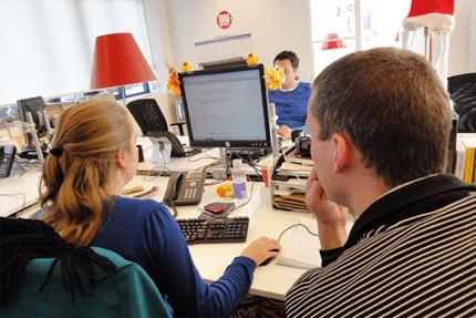 Werkplek vd week sanoma digital for Sanoma digital