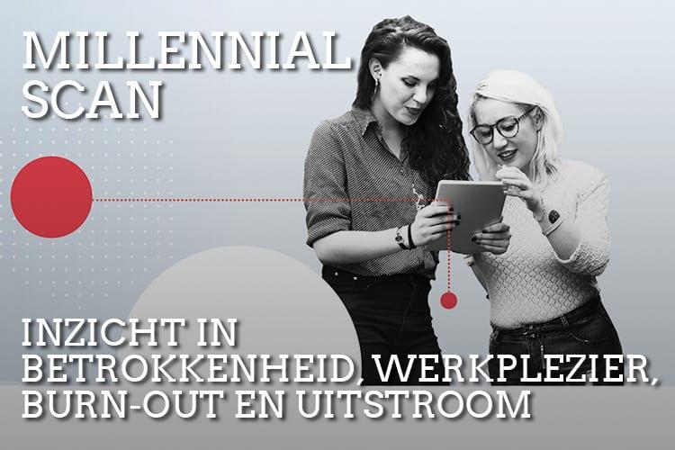 Onderzoek Millennials in Nederland - doe de bedrijfsscan en weet wat jouw millennials willen
