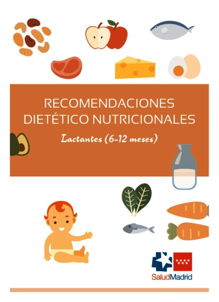 thumbnail of Recomendaciones nutricionales 6 a 12 meses