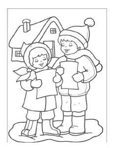 thumbnail of Dibujos para colorear de Navidad