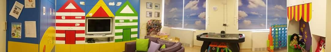 Caroline Thorpe Children's Ward playroom