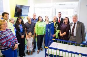 Enhancements at Caroline Thorpe children's ward