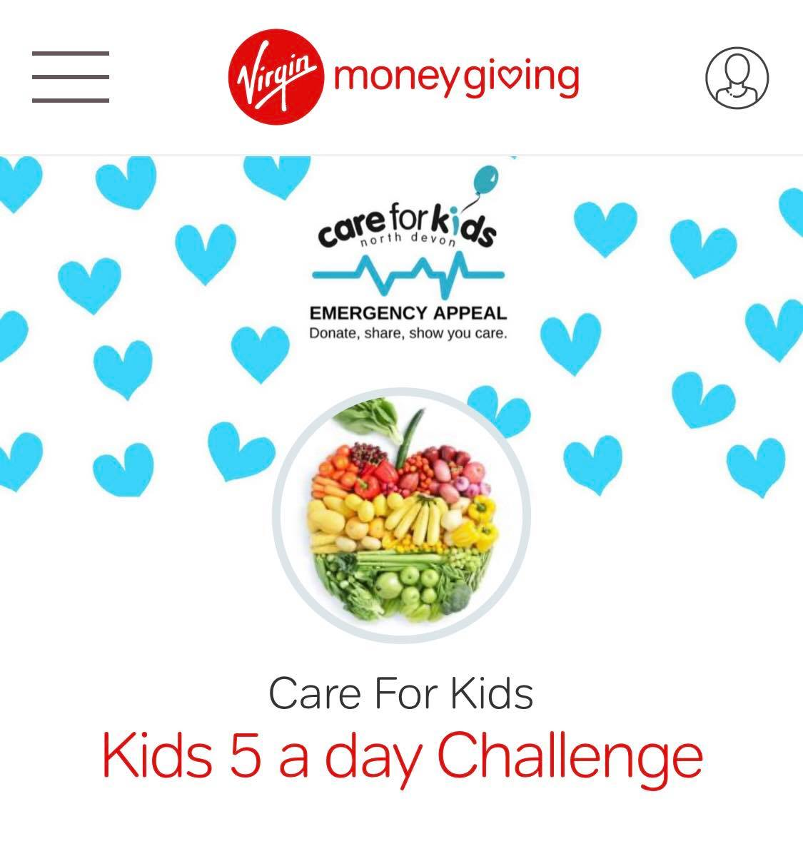 Kids 5 a Day Challenge