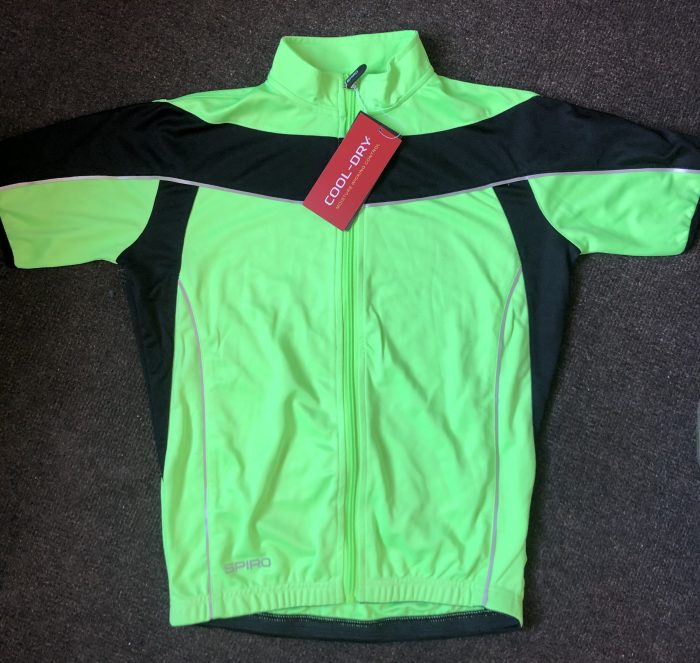 Cycling jersey, front.