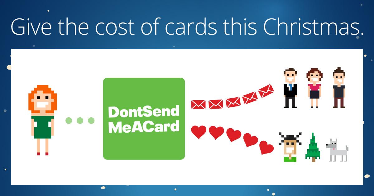 Christmas e-card campaign