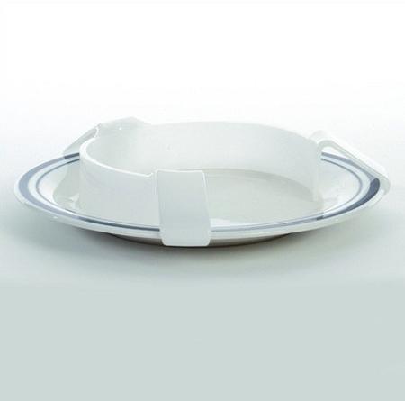 Food Bumper Plastic Plate Guard