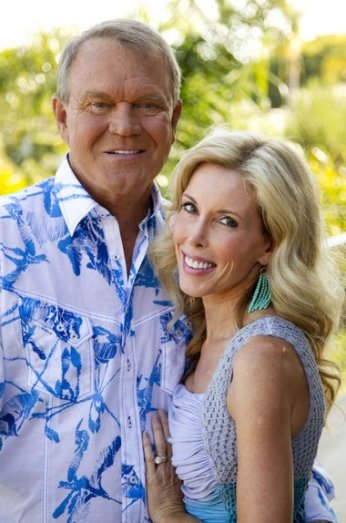 Kim Campbell and Glen Campbell