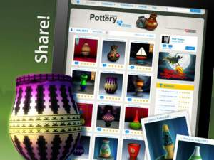 Let's Create Pottery iPad App for Alzheimer's and dementia