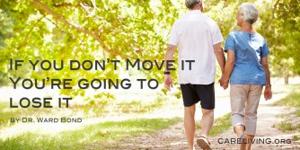 The importance of walking in relation to Alzheimer's by Dr. Ward Bond for CareLiving.org