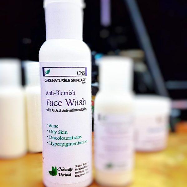 Anti-Blemish Face wash