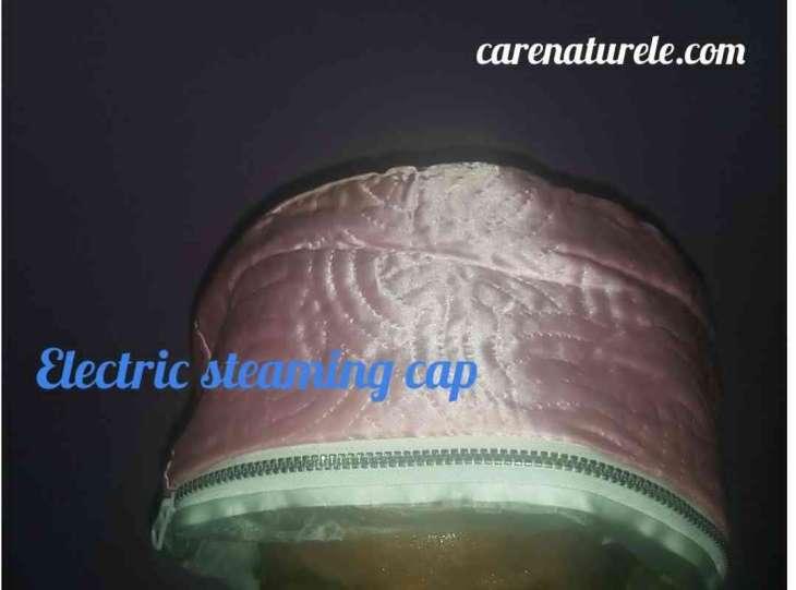 Steam cap