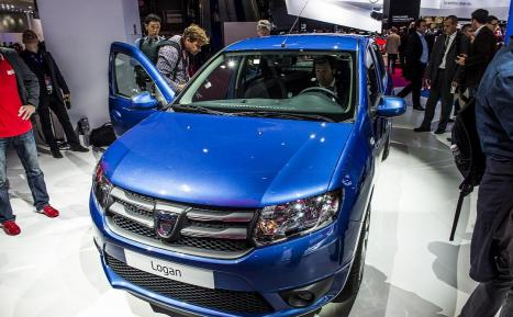 dacia logan 2012 car specs