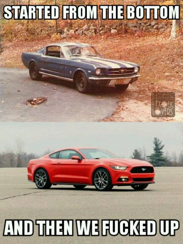 What do people think about the 2015 Ford Mustang? Also check out its