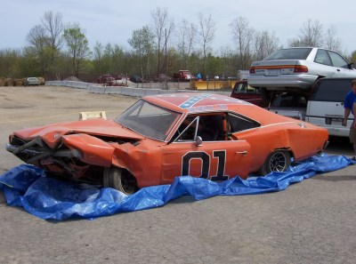 original-junkyard-general-lee-car