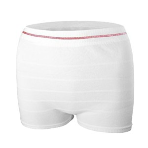 Mesh Postpartum Panties Washable Reusable Short Underwear Suitable for Post Surgical Recovery, Breathable, Stretchy, Light