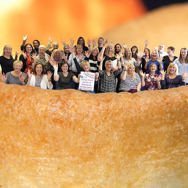 We think every day should be and to celebrate here's our whole team in a Yorkshire pudding :)