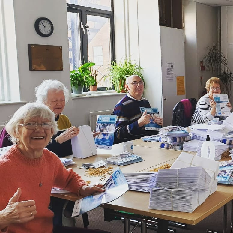 Take a look at some of the brilliant who make sure you all get your favourite newsletter to your doorstep in time.