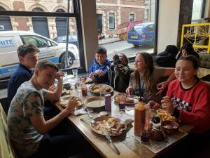 Young Carers Meal at Nandos