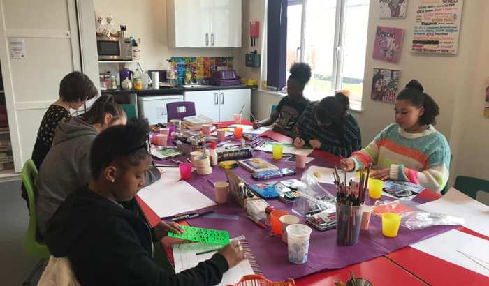 Young Carers Creative Art Workshop