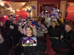 Annual Young Carers Trip To The Panto.