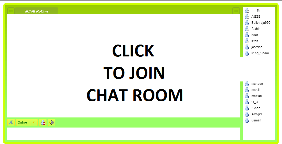 English Chat Room Online Without Registration