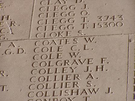 Charles Llewellyn Cole, Private