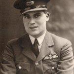 Pilot Officer Anthony Barnes in Uniform circa 1940