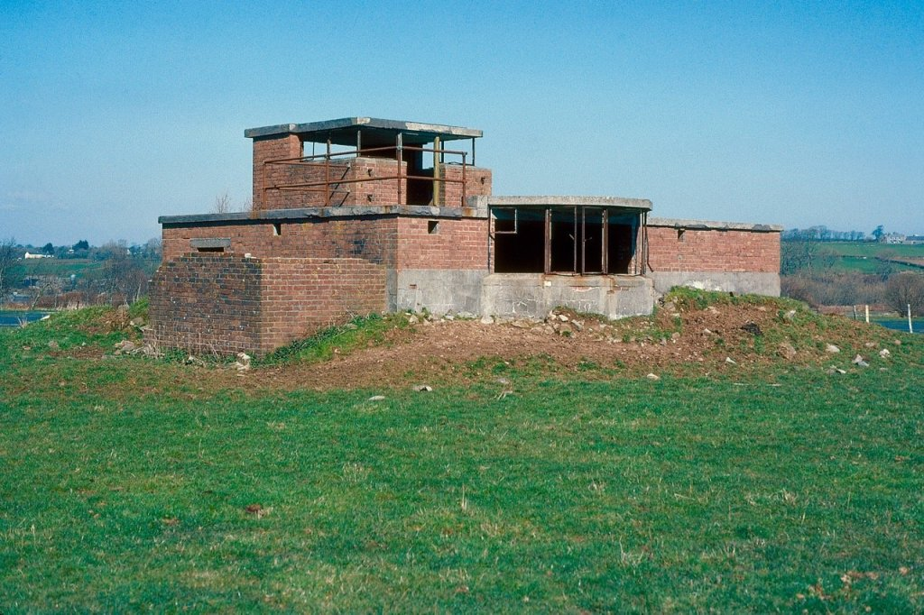 The Control Tower before restoration began