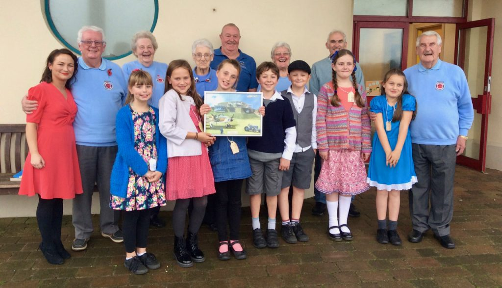 Spittal School's support for Carew Cheriton Control Tower