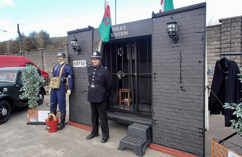 Glamorgan Constabulary Police Re-Enactment Group