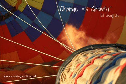 change equals growth