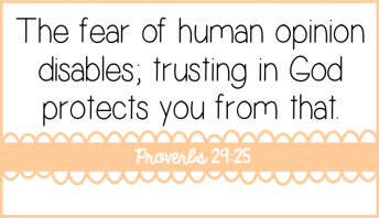 Fear disables