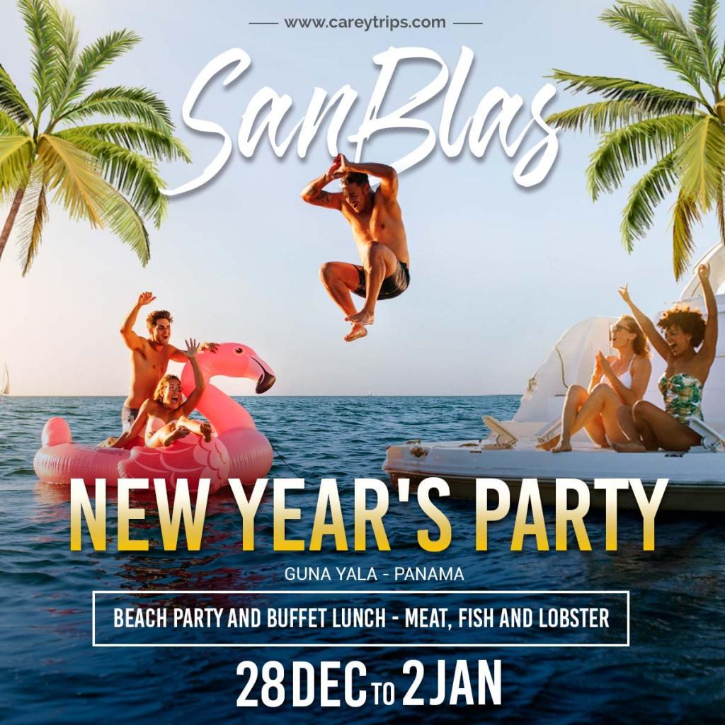 San blas super party new year